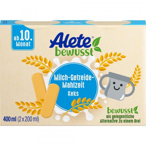 Milch-Getreide-Mahlzeit, Keks