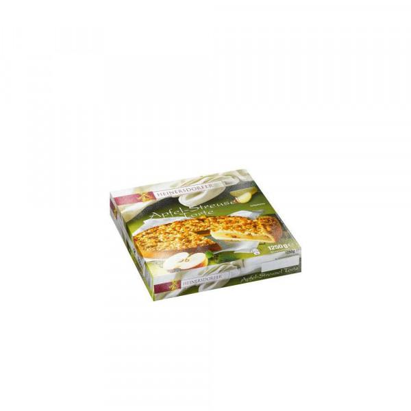 Apfel-Streuselkuchen, tiefgekühlt