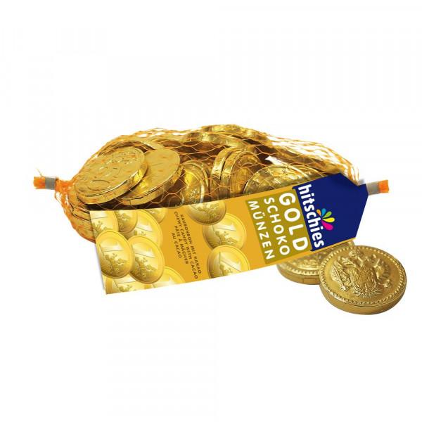 Schokoladen- Goldmünzen