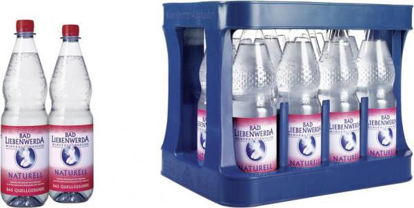 Mineralwasser, Naturell (12 x 1 Liter)
