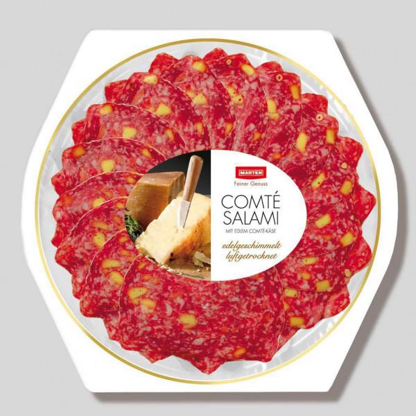 Comté-Salami mit Comté-Käse