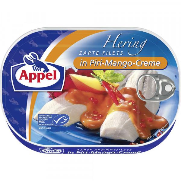 Heringsfilets, Piri-Mango