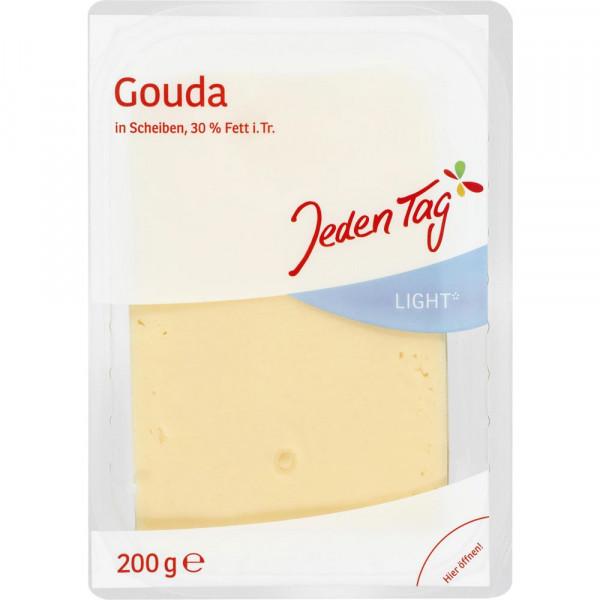 Käsescheiben Gouda, light