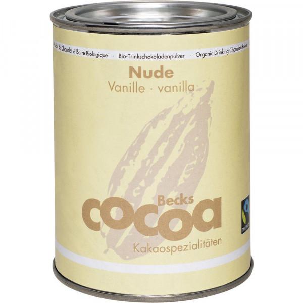 Bio Trinkschokoladenpulver, Nude Vanille