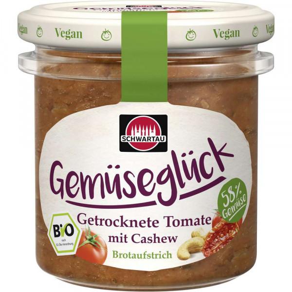 """Bio Fruchtaufstrich """"Gemüseglück"""", Tomate-Cashewkerne"""