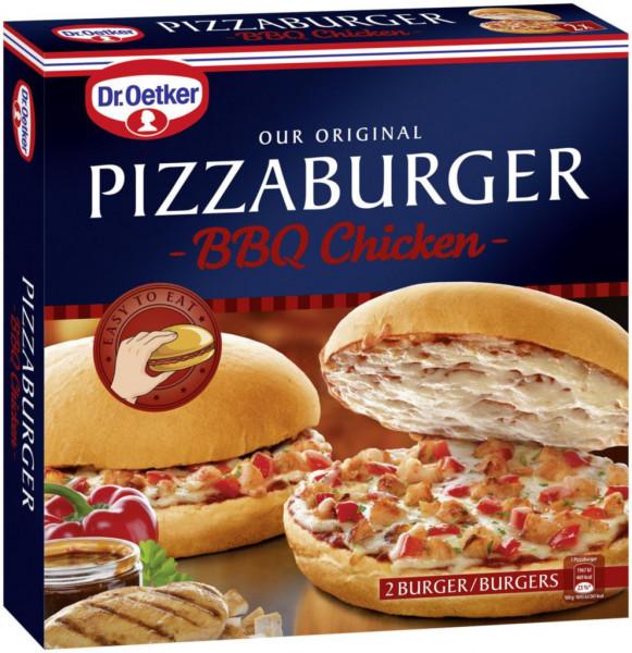 Pizzaburger BBQ Chicken, tiefgekühlt