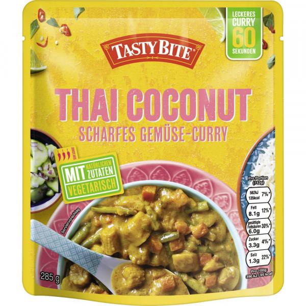 """Fertiggericht """"Thai Coconut"""", scharfes Gemüse-Curry"""