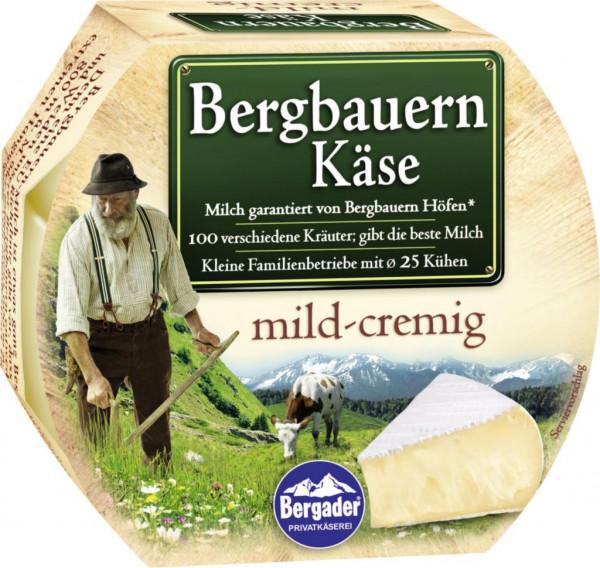 Bergbauern Käse, mild-cremig