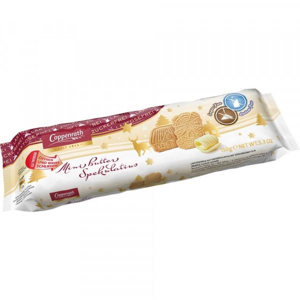 Mini Butter-Spekulatius, zucker- & laktosefrei