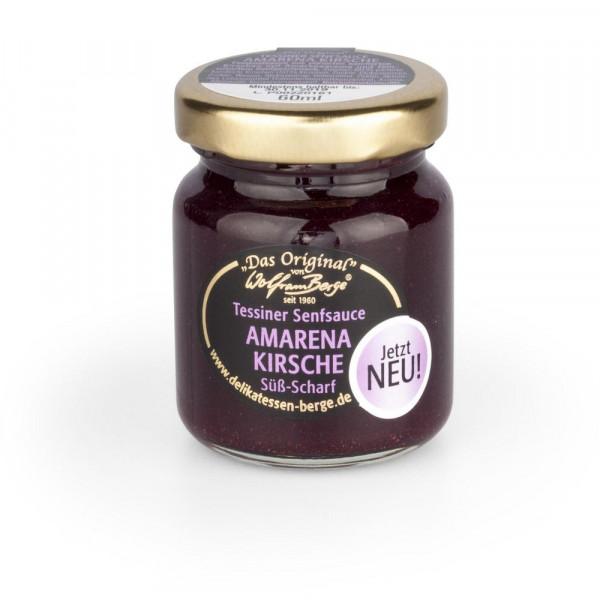 Senf-Sauce, Amarena Kirsche