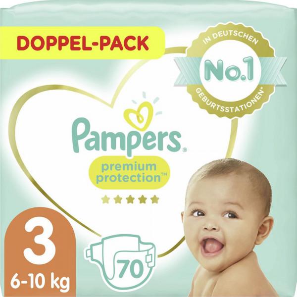 Windeln Premium Protection Gr. 3, 6-10kg Doppelpack