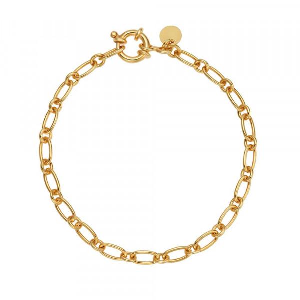 Damen Armband aus Silber 925, vergoldet (4056874024495)