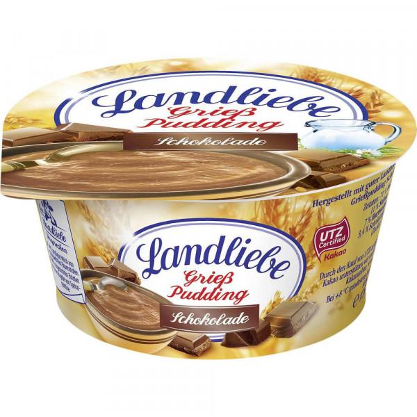 Grießpudding, Milchschokolade