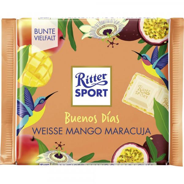 Tafelschokolade, Weisse Mango + Maracuja