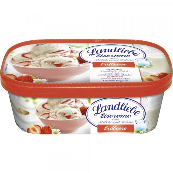 Eiscreme, Erdbeere