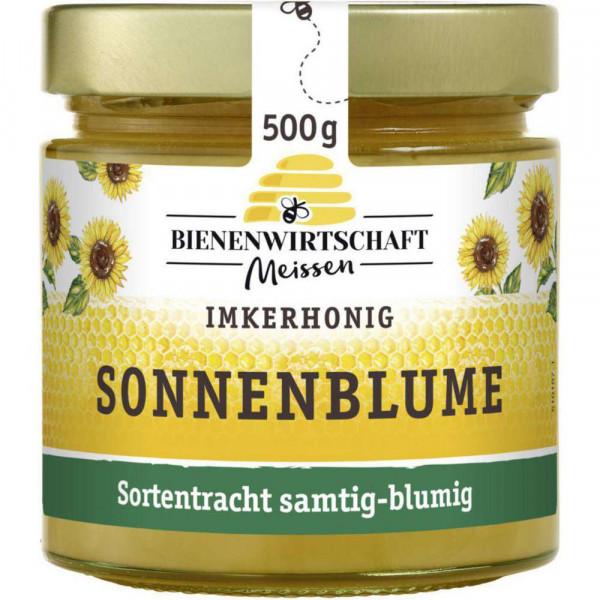 Sonnenblumen-Honig, cremig
