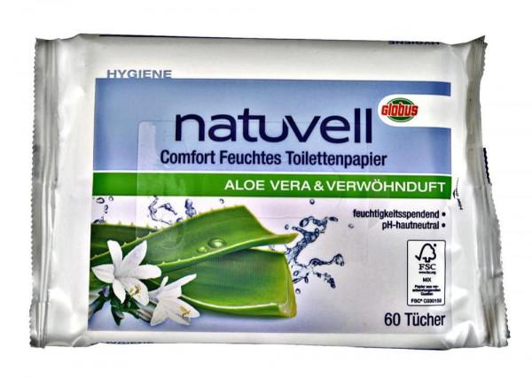 Feuchtes Toilettenpapier Aloe Vera, Nachfüllpack