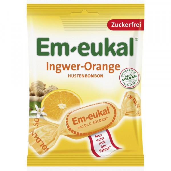 Bonbons Orange-Ingwer, zuckerfrei