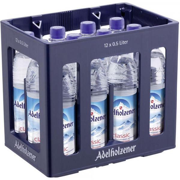 Mineralwasser, Classic (12 x 0.5 Liter)