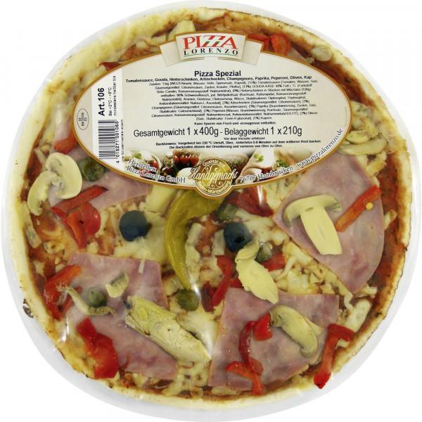Pizza, Spezial