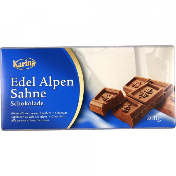 Tafelschokolade, Edelrahm