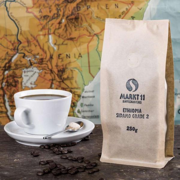 """Kaffee-Bohnen """"Ethiopia Sidamo"""""""