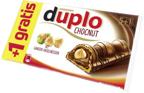 """Schokoriegel """"Chocnut"""" 5+1"""