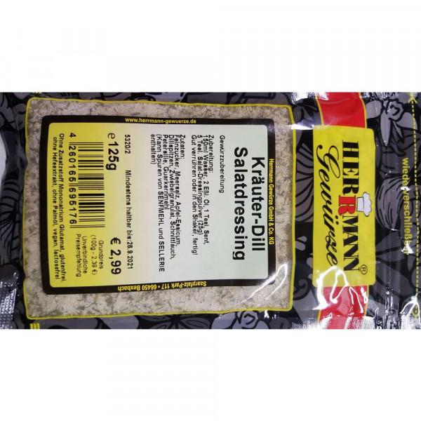 Gewürzmischung Kräuter-Dill Salatdressing