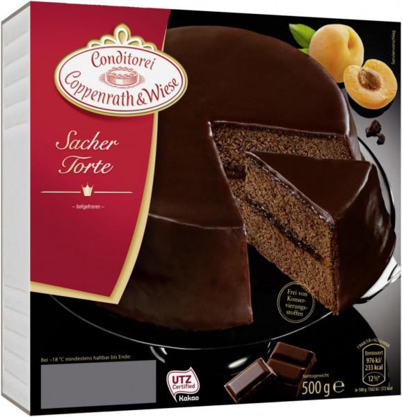 Sacher-Torte, tiefgekühlt