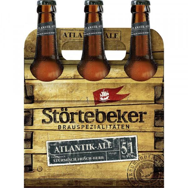 Atlantik Ale Craft Beer 5,1%(6 x 0.5 Liter)