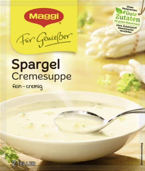 Genießer Suppe, Spargelcreme