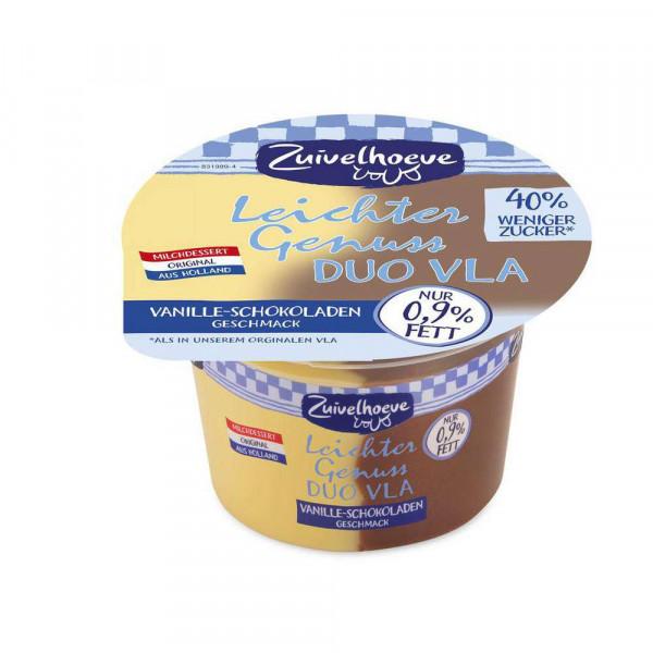 """Vla Pudding """"Leichter Genuss"""",Schoko/Vanille"""