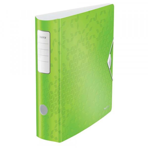 Ordner, grün, Kunststoff, 8,2 cm, DIN A4