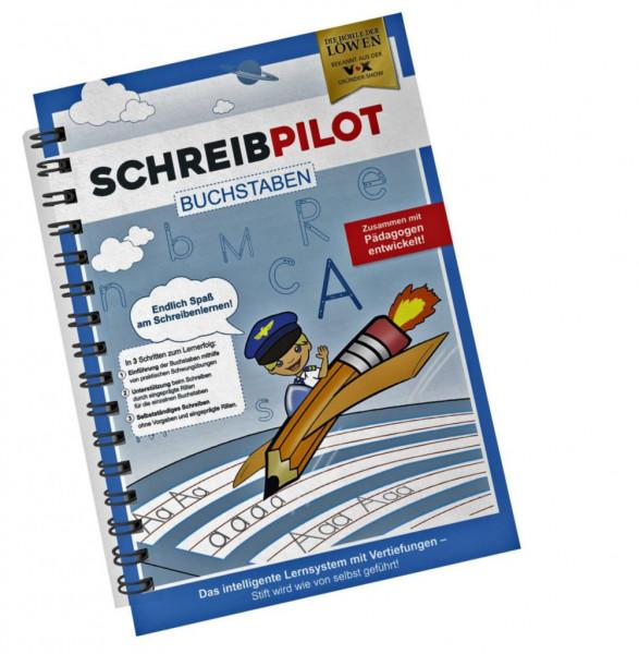 Schreiblernhilfe Heft, Buchstaben