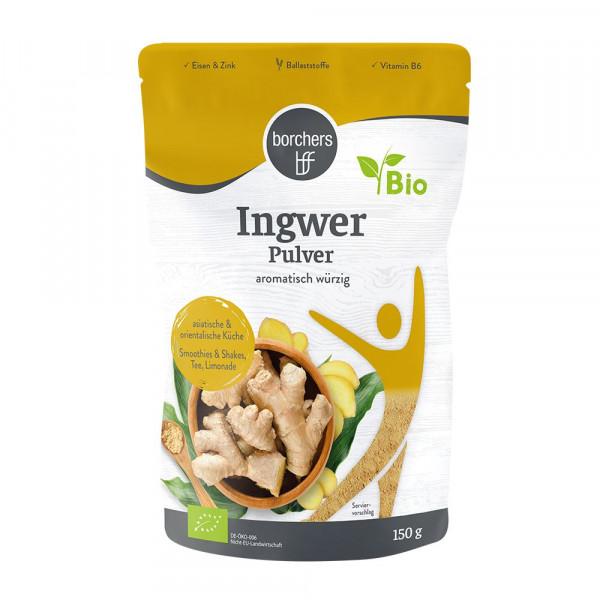 Bio Ingwer, Pulver