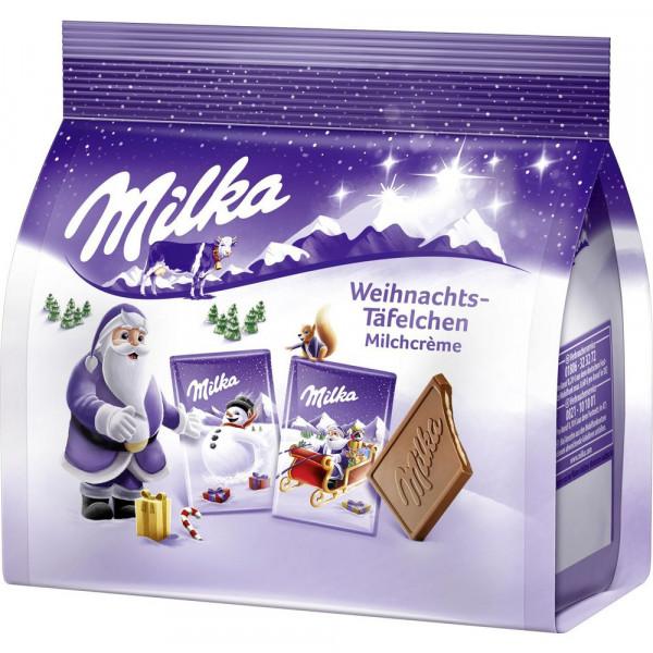 Schokoladen-Weihnachts-Täfelchen