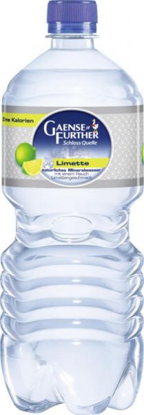 Limette Mineralwasser, Feinperlig