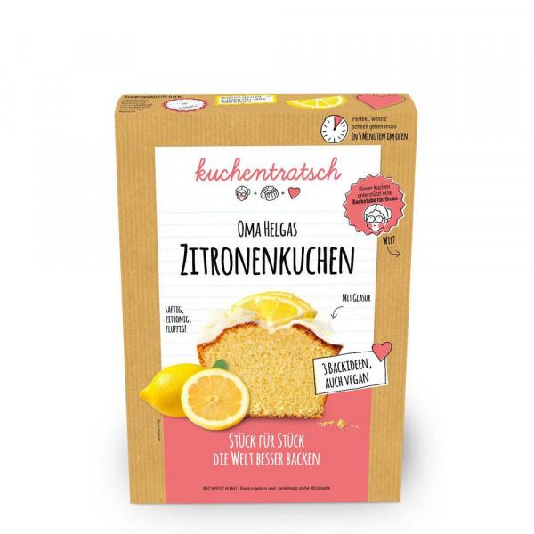 Oma Helgas Zitronenkuchen Backmischung