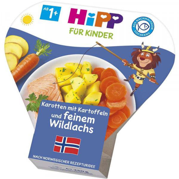Kinder Schalenmenü, Karotte/Kartoffel/Lachs