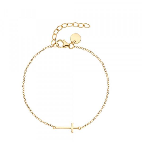 Damen Armband aus Silber 925, vergoldet (2030200)
