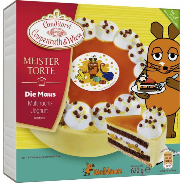Tiefkühltorte Meistertorte Die Maus, Multifrucht-Joghurt