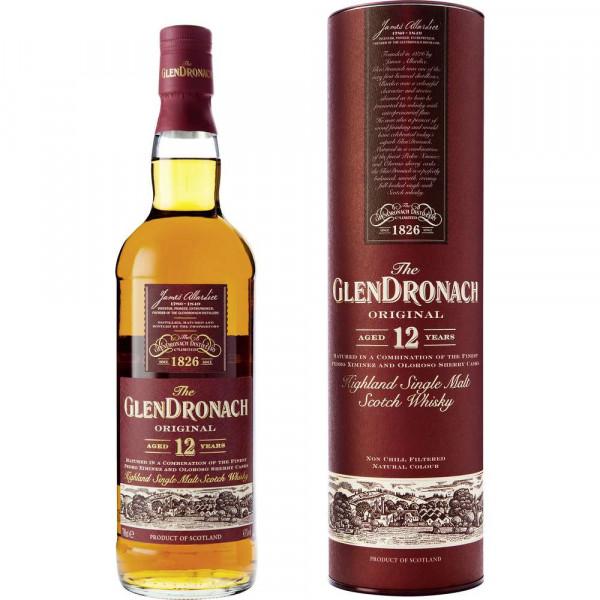 Highland Single Malt Scotch Whisky, 12 Jahre, 43 %