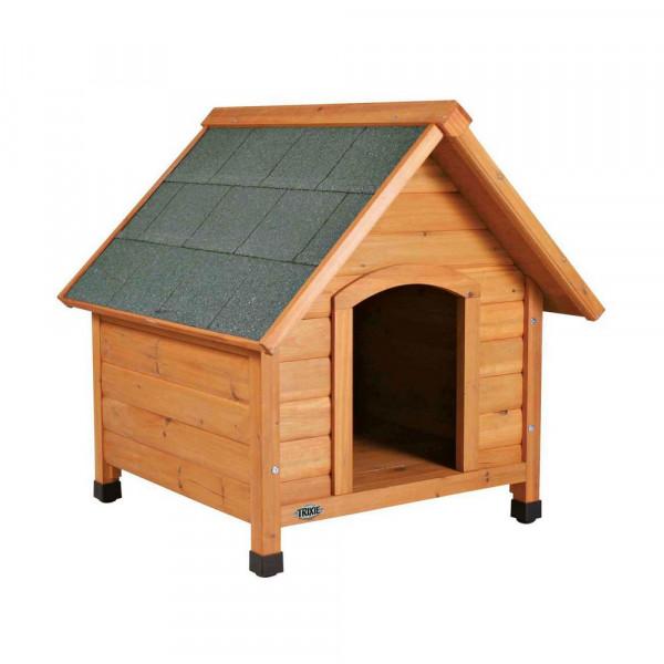 """Hundehütte """"Natura Cottage"""" mit Satteldach, Größe M"""