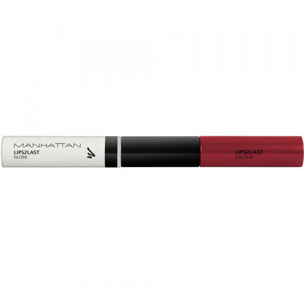 Lipgloss Lips 2 Last, Perfect Red 44 Q