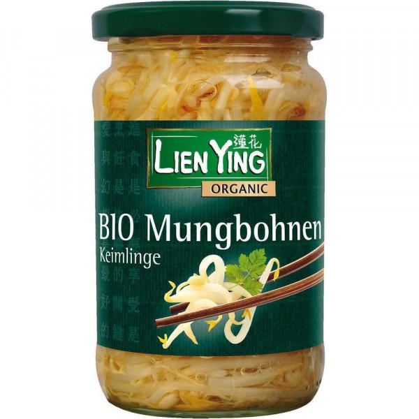 Bio Mungobohnen, Keimlinge