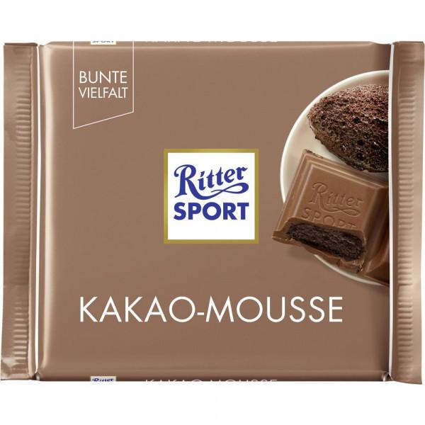 Tafelschokolade, Kakao Mousse