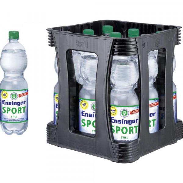 Sport Mineralwasser, Still (9 x 1 Liter)