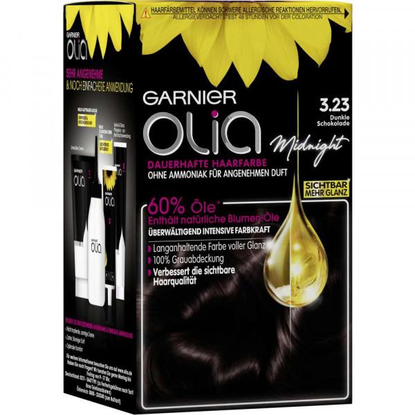 "Haarfarbe ""Olia"", 3.23 dunkle Schokolade"