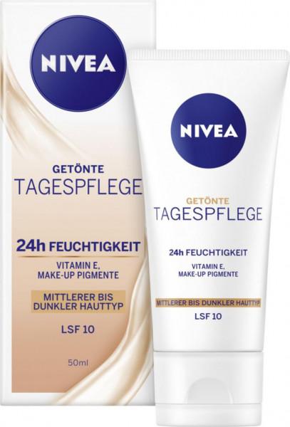 Essentials getönte Feuchtigkeitscreme mittlerer - dunkler Hauttyp LSF11