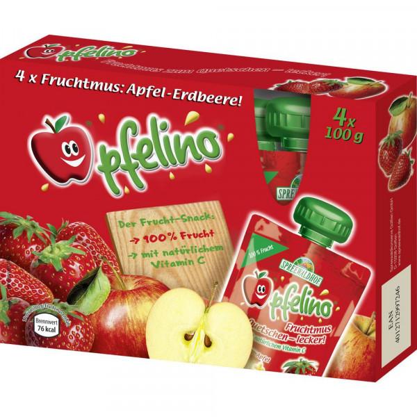 """Fruchtmus """"Apfelino"""", Apfel-Erdbeere"""